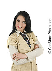 Attractive business woman