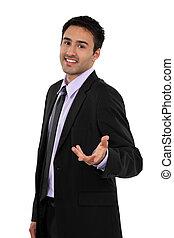 Attractive businessman