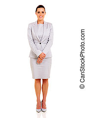 businesswoman in a suit