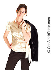 Attractive confident business woman - Attractive confident...
