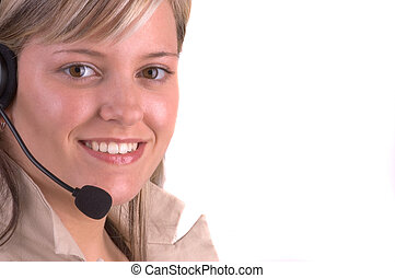 Customer Service - Attractive Customer Service Agent With ...