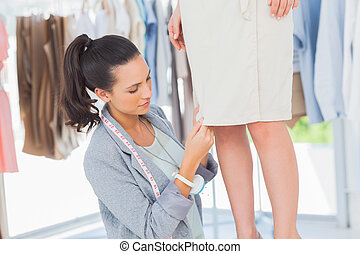 Attractive designer picking needles