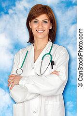 Attractive doctor