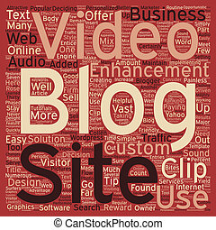 Attractive Enhancements For Your Blog text background wordcloud concept