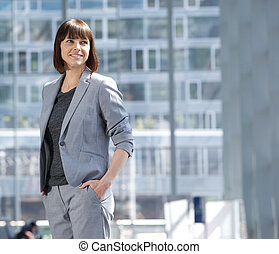 Attractive executive business woman