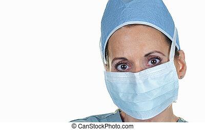 Attractive Female Surgeon