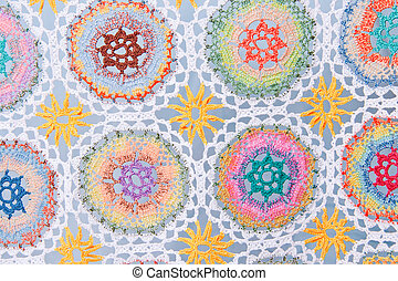 Handmade crochet fabric pattern - Attractive Handmade...