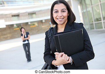 Attractive Hispanic Business Woman