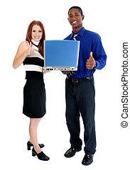 Attractive Interracial Couple