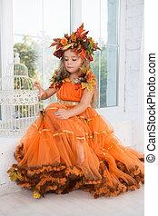 Attractive little girl