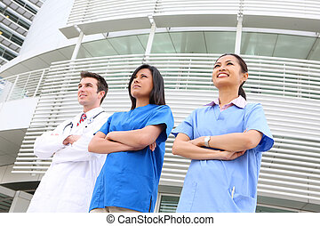 Attractive Medical Team