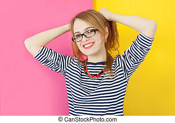 Attractive nice girl