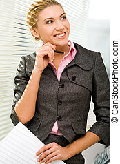 Attractive professional