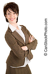 Attractive smiling Businesswoman