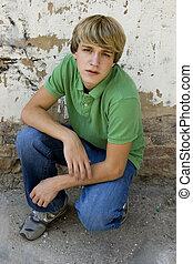 Attractive Teen Boy