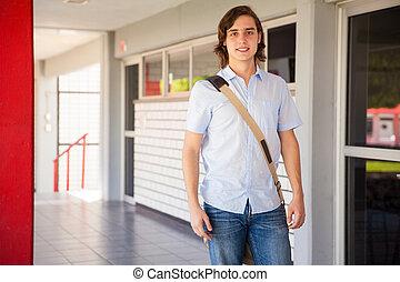 Attractive university student