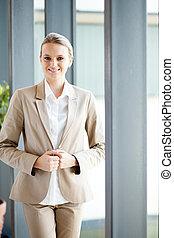 businesswoman portrait in office