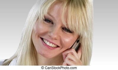 Attrative Woman expressing Positivity - Attractive Caucasian...