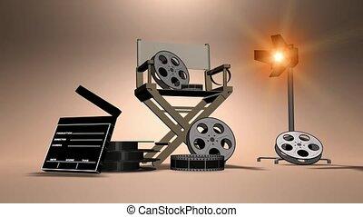 attrezzatura film