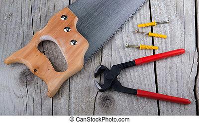 attrezzi, carpentiere