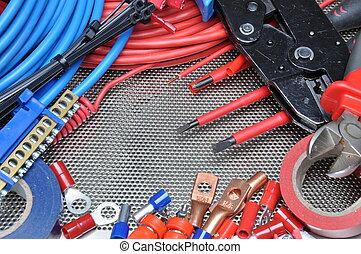 attrezzi, componente elettrico