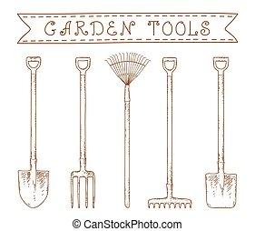 attrezzi giardino