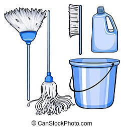 attrezzi, pulizia