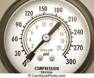 attrezzo, analisi, compressione