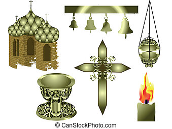attributes, キリスト教徒, 教会
