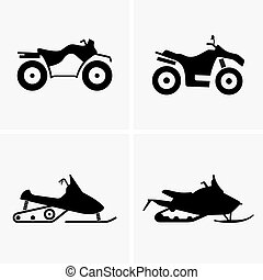 atv, e, snowmobile
