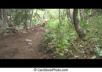 atv on trail - ATV riding in Boise Idaho