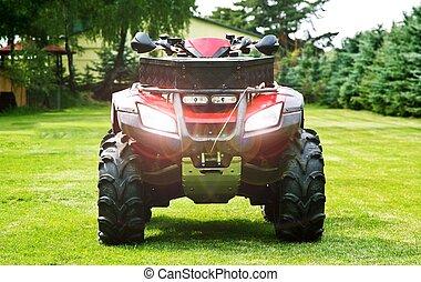 ATV - Quad Bike - ATV ( All Terrain Vehicle ) - Quad Bike on...