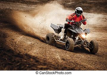 ATV Quadbike Race Driving