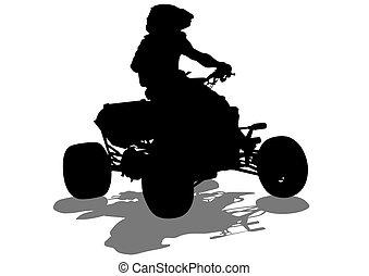 ATV sports races