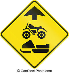 ATVs And Snowmobiles Ahead In Canada