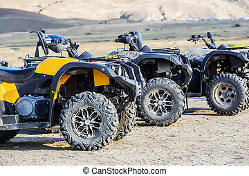 ATVs on the plain