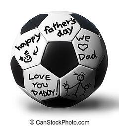 atya, kézírás, soccerball, -e