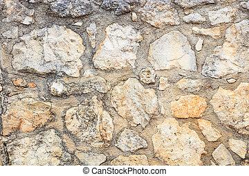 Nice Außen, Steinmauer, Hintergrund