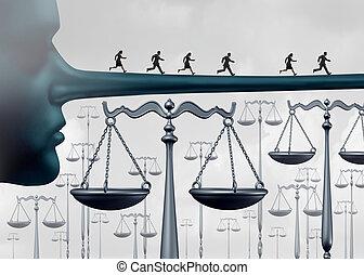 au-dessus, les, droit & loi