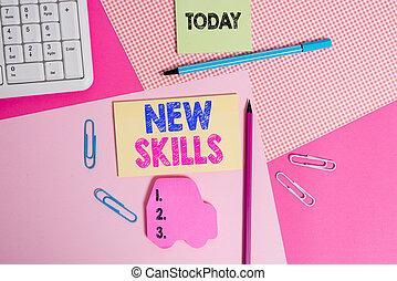 au-dessus, nouveau, showcasing, photo, skills., écriture, ...