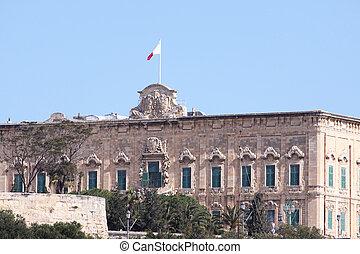 auberge de castille, office of the prime minister in...