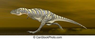 Aucasaurus dinosaur - 3D render - Aucasaurus dinosaur...