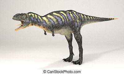 aucasaurus, green-dinosaur