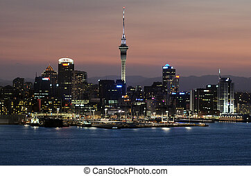 Auckland Cityscape - AUCKLAND, NZ - JAN 18:Auckland downtown...