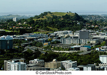 Auckland Cityscape - Mount Eden - AUCKLAND,NZ - JAN...