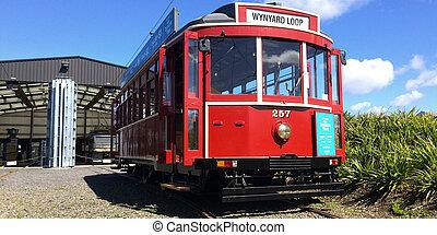 Auckland Dockline Wynyard Quarter Tram