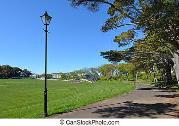 Auckland Domain - New Zealand - AUCKLAND, NZL - SEP 28...