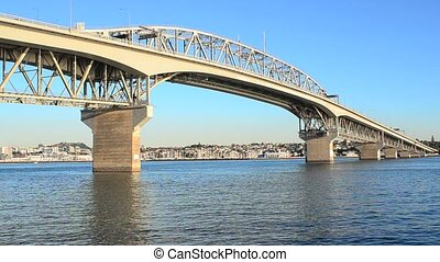 Auckland Harbor Bridge New Zealand - Auckland Harbor Bridge...