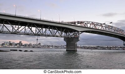 Auckland Harbour Bridge - New Zeala