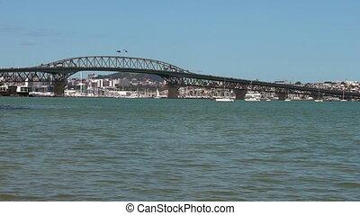 Auckland Harbour Bridge, New Zealand - Auckland Harbour...